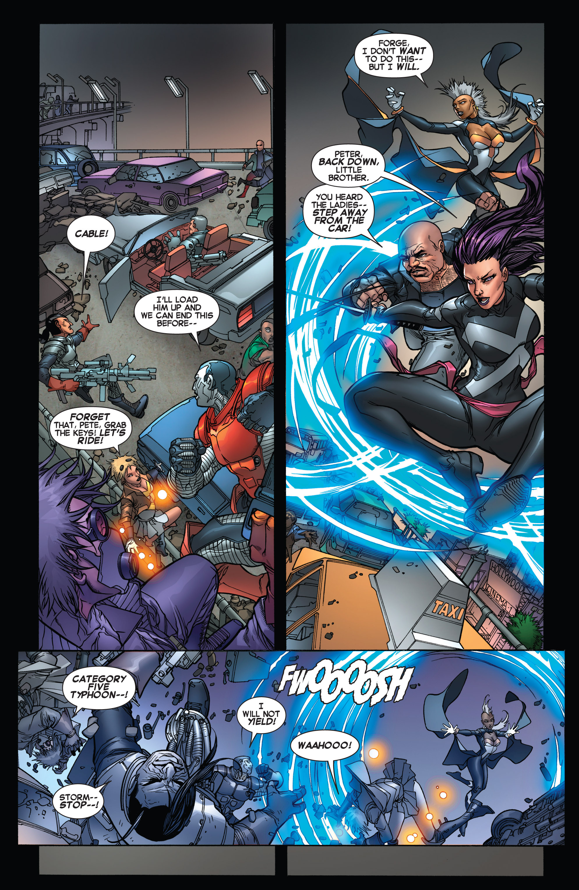 Read online Uncanny X-Force (2013) comic -  Issue #16 - 16