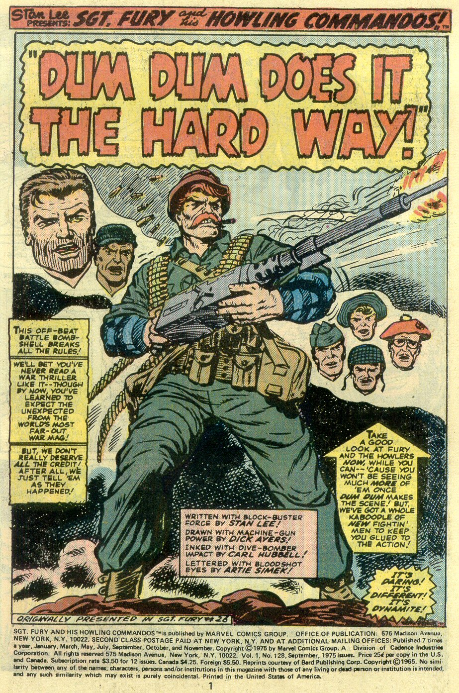 Read online Sgt. Fury comic -  Issue #128 - 3