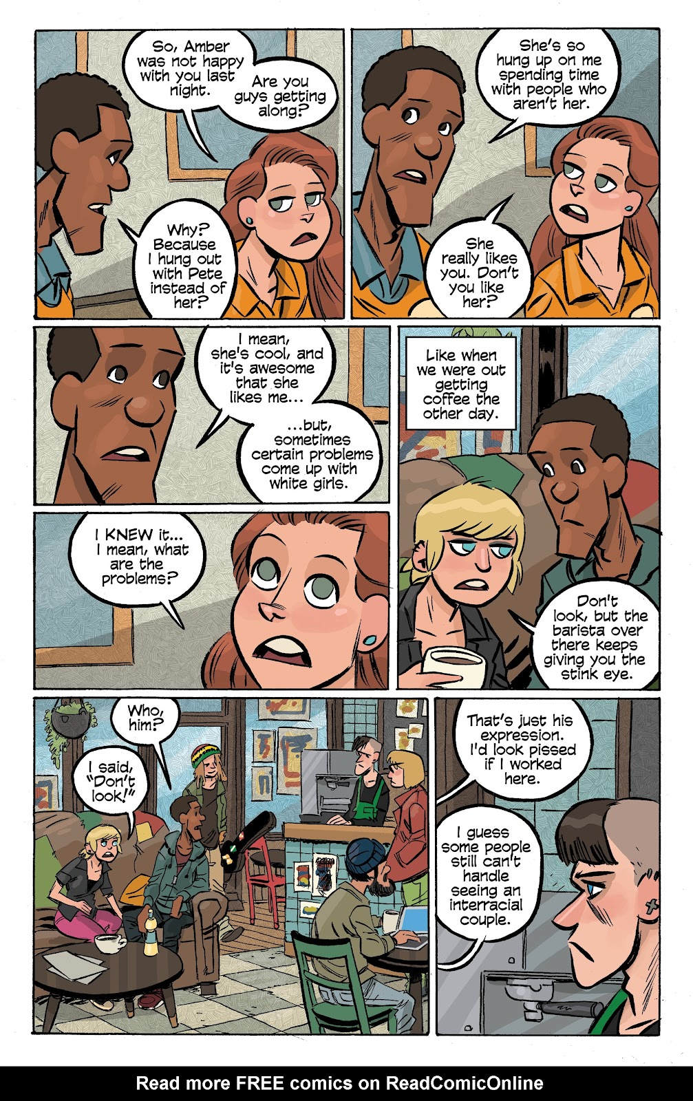 Read online Cellies comic -  Issue #7 - 13