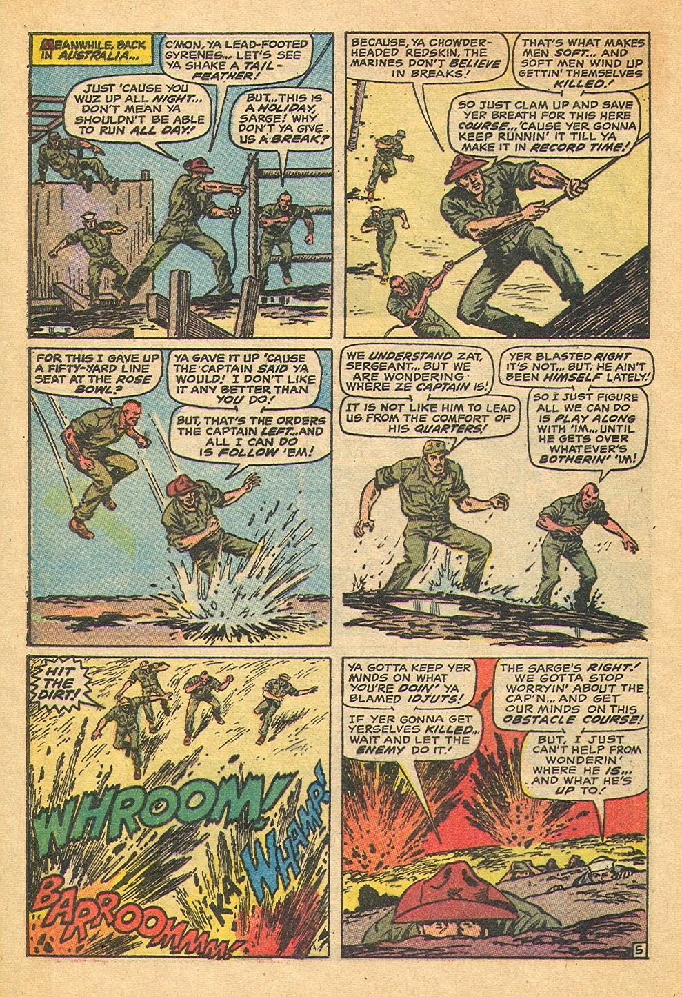 Captain Savage and his Leatherneck Raiders issue 19 - Page 8