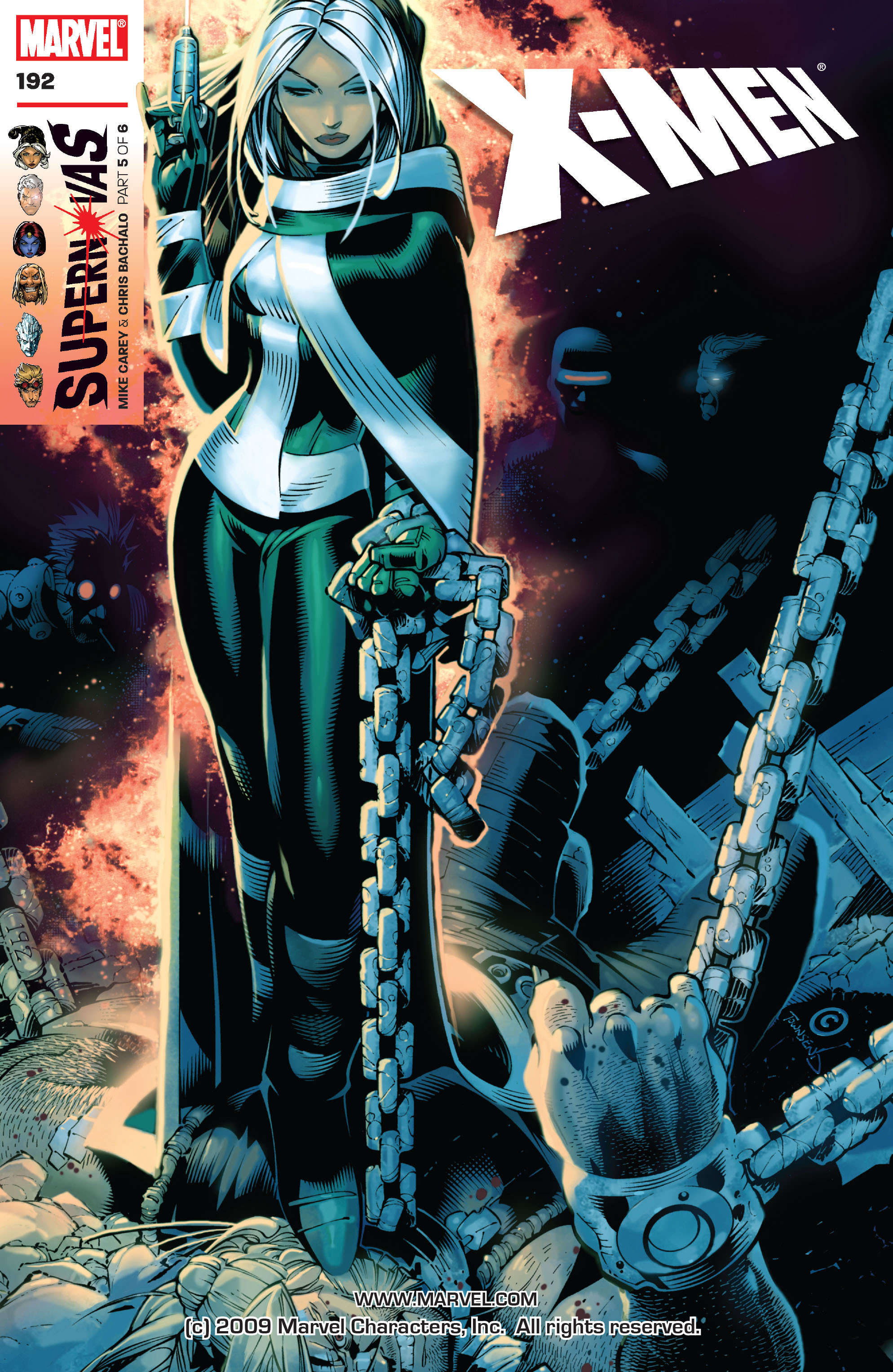 X-Men (1991) 192 Page 0