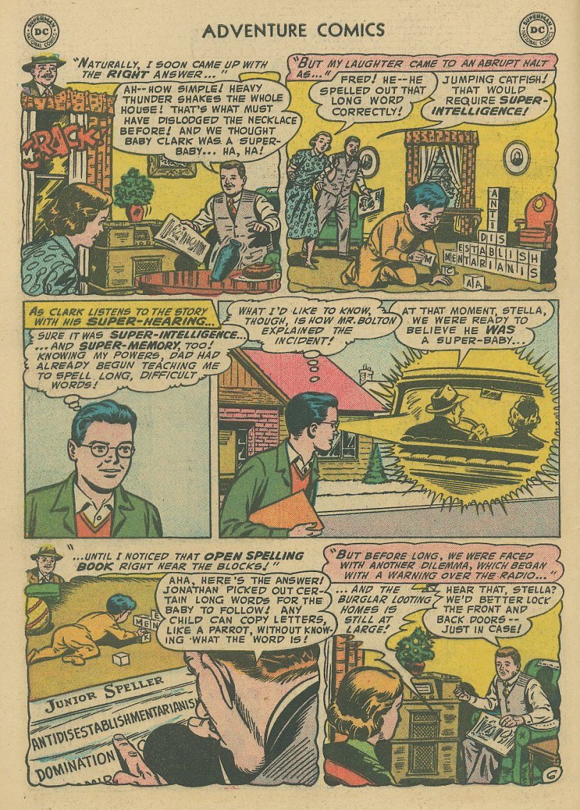 Read online Adventure Comics (1938) comic -  Issue #221 - 7