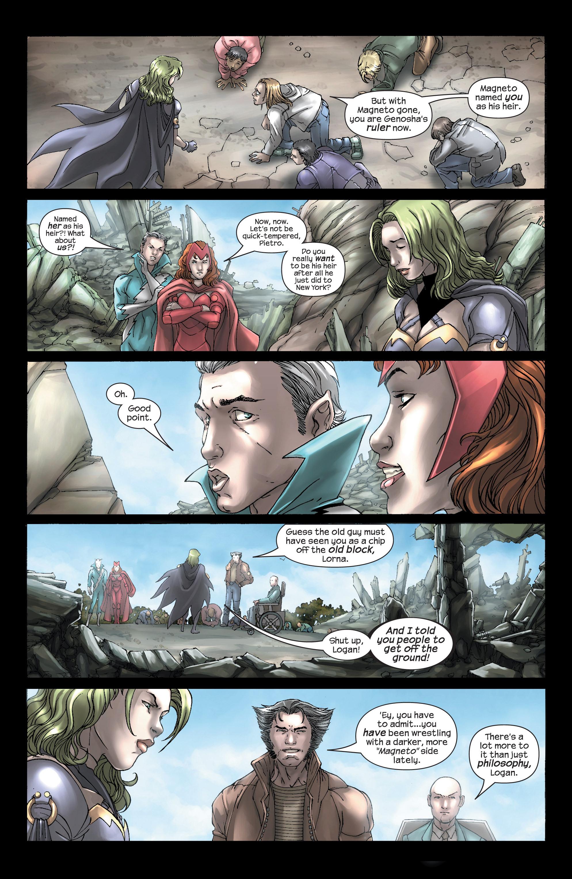 Read online Uncanny X-Men (1963) comic -  Issue #443 - 4