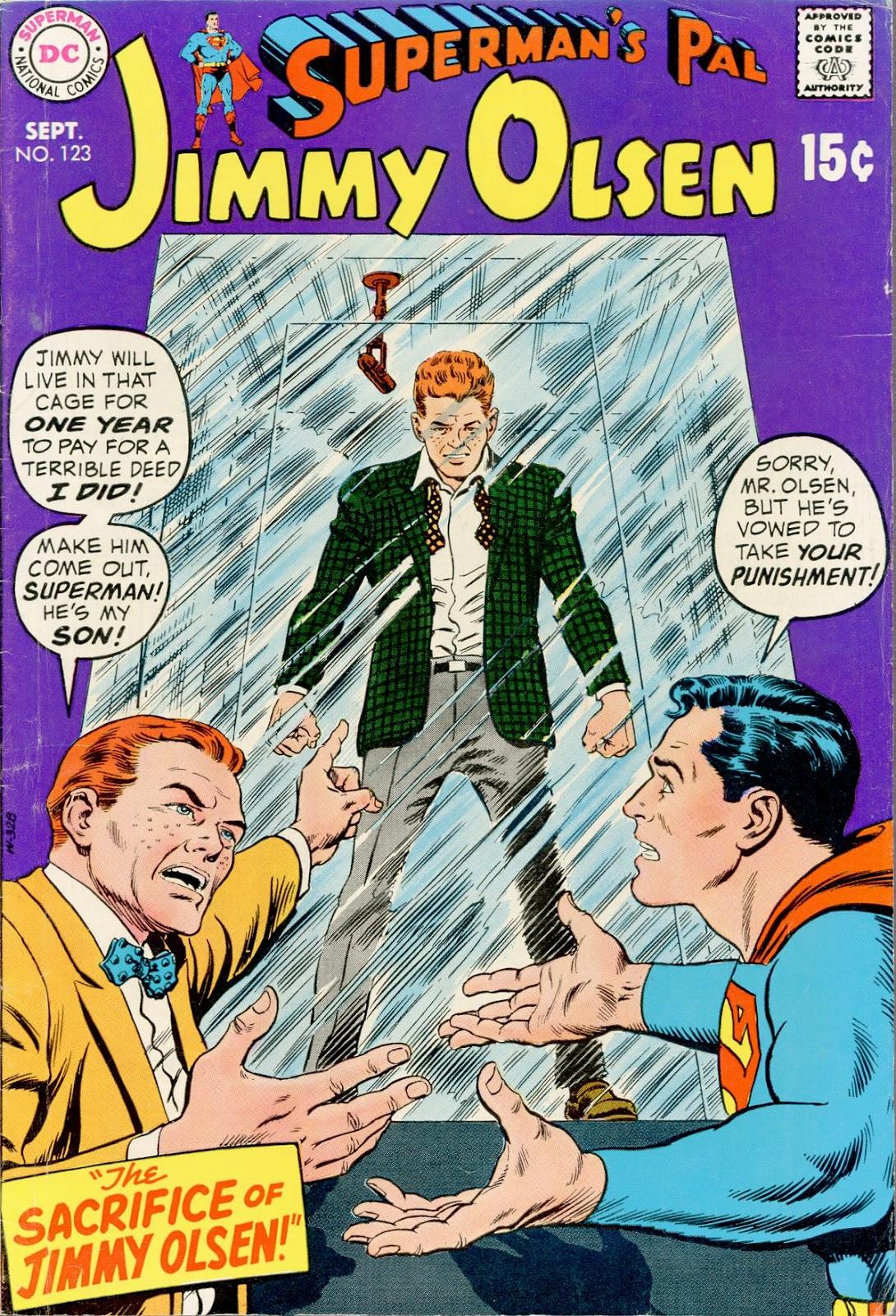 Supermans Pal Jimmy Olsen (1954) 123 Page 1