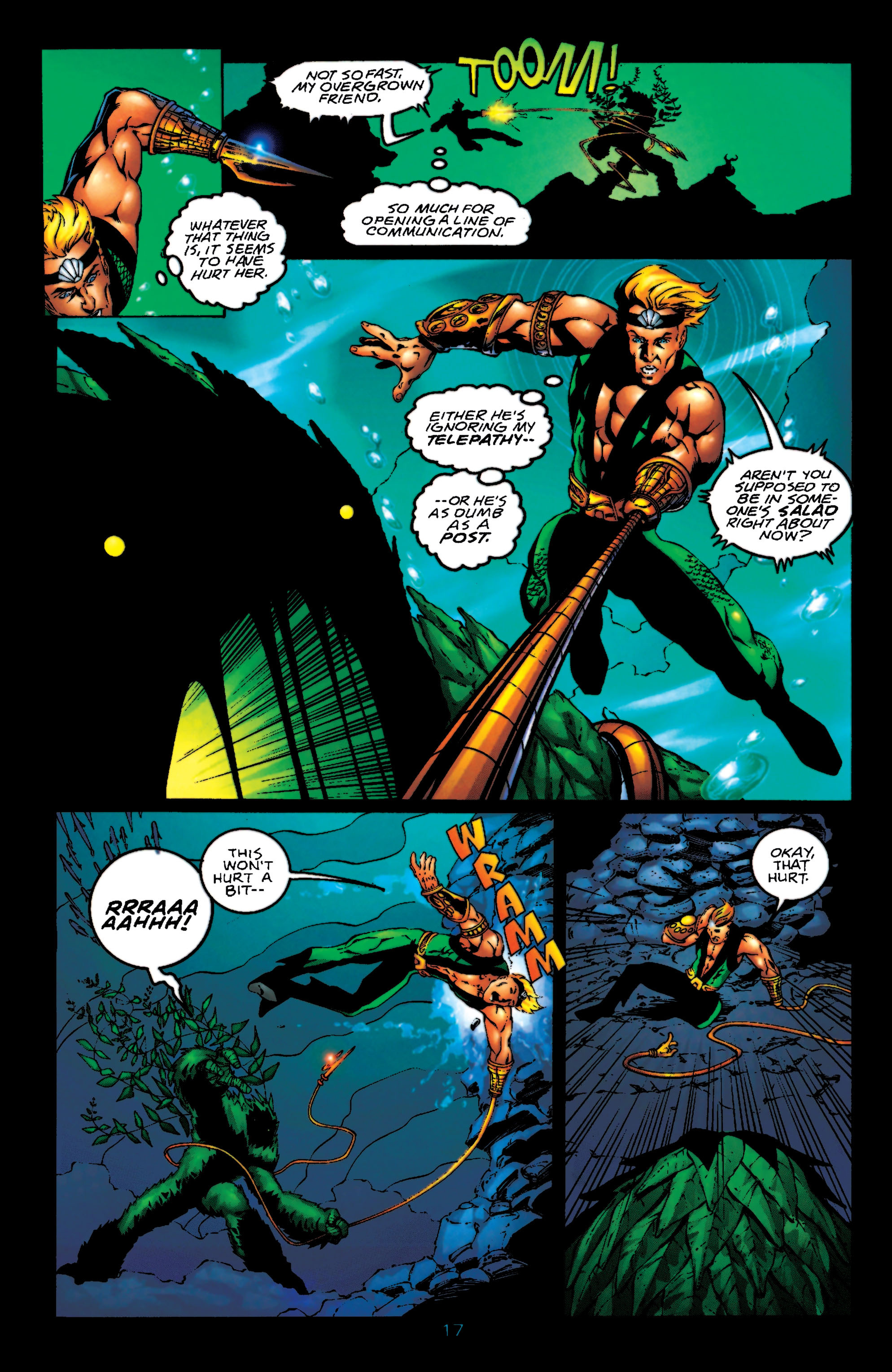 Read online Aquaman (1994) comic -  Issue #55 - 18