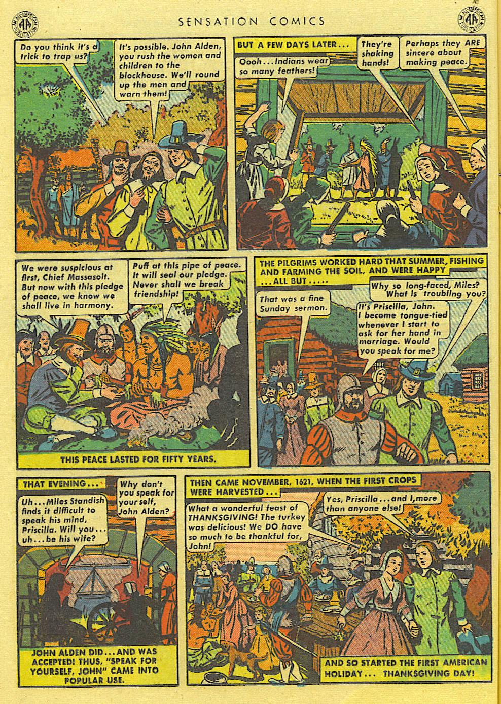Read online Sensation (Mystery) Comics comic -  Issue #39 - 18