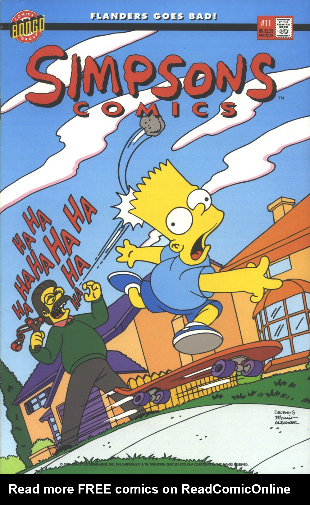 Read online Simpsons Comics comic -  Issue #11 - 1