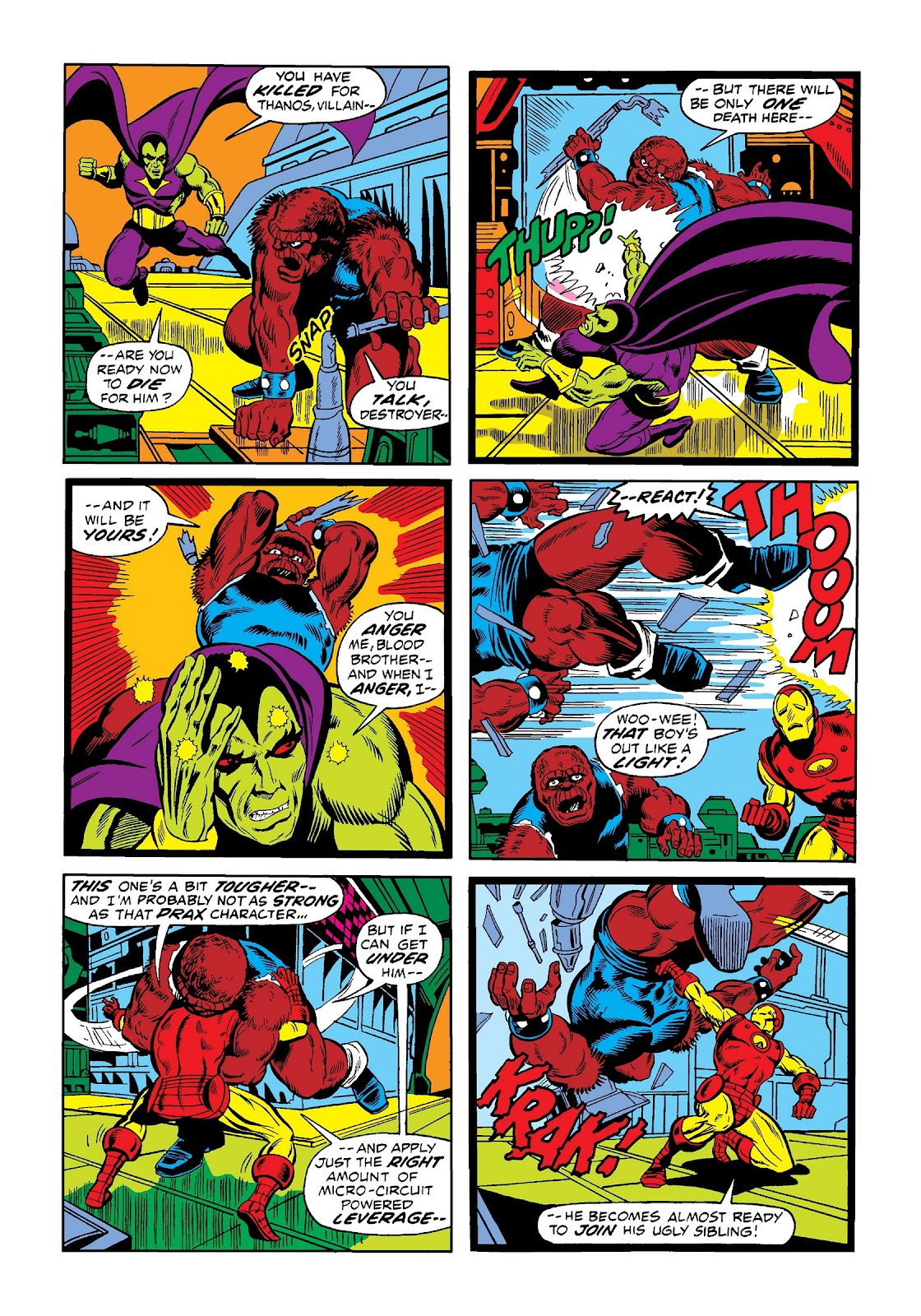 Read online Marvel Masterworks: The Invincible Iron Man comic -  Issue # TPB 9 (Part 1) - 44