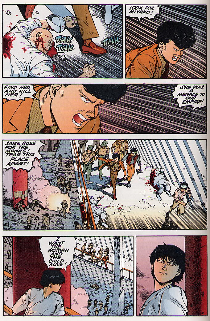 Read online Akira comic -  Issue #21 - 57