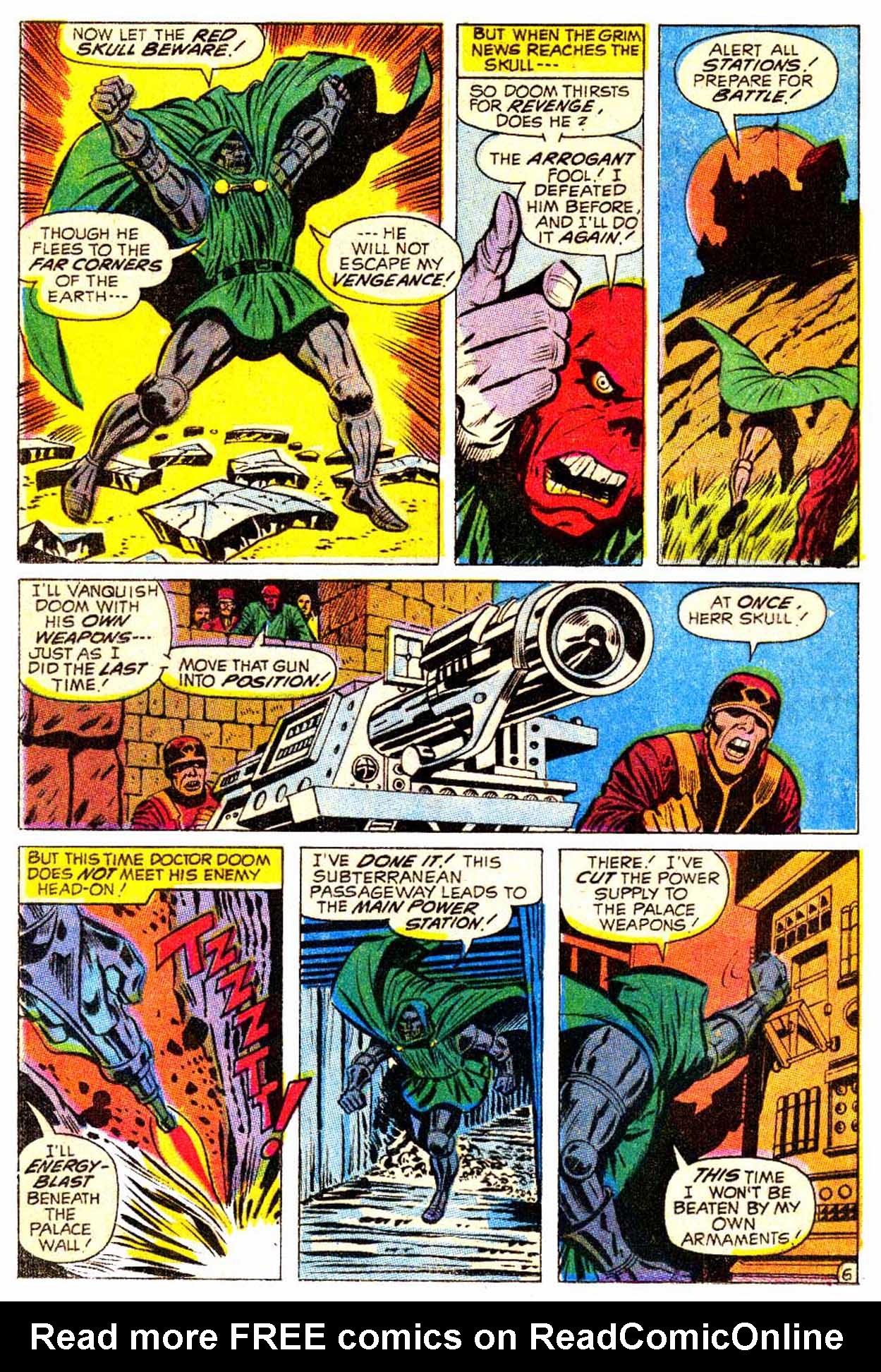 Read online Astonishing Tales (1970) comic -  Issue #5 - 7