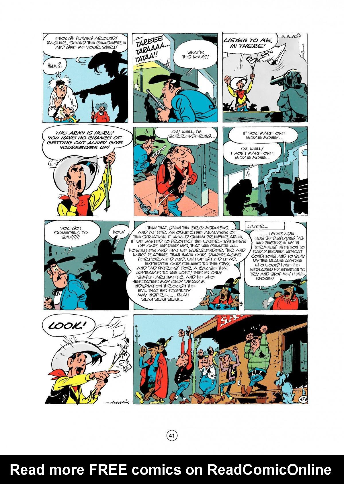 Read online A Lucky Luke Adventure comic -  Issue #27 - 42