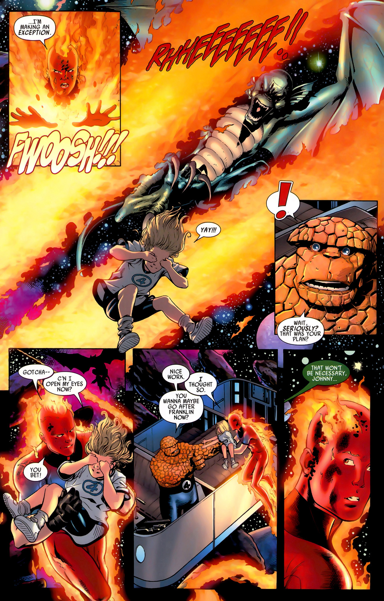 Read online Secret Invasion: Fantastic Four comic -  Issue #3 - 8