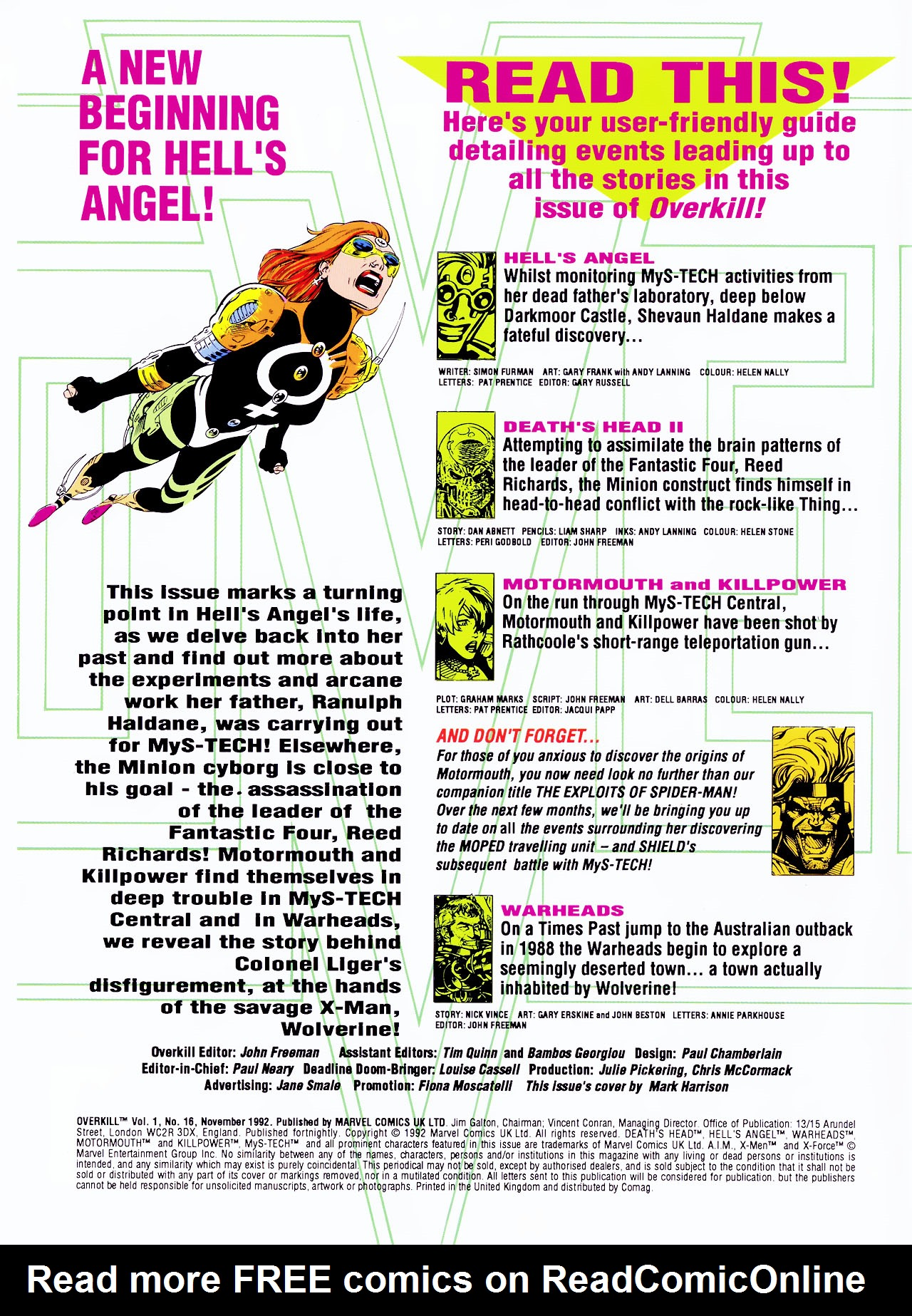 Read online Overkill comic -  Issue #16 - 2