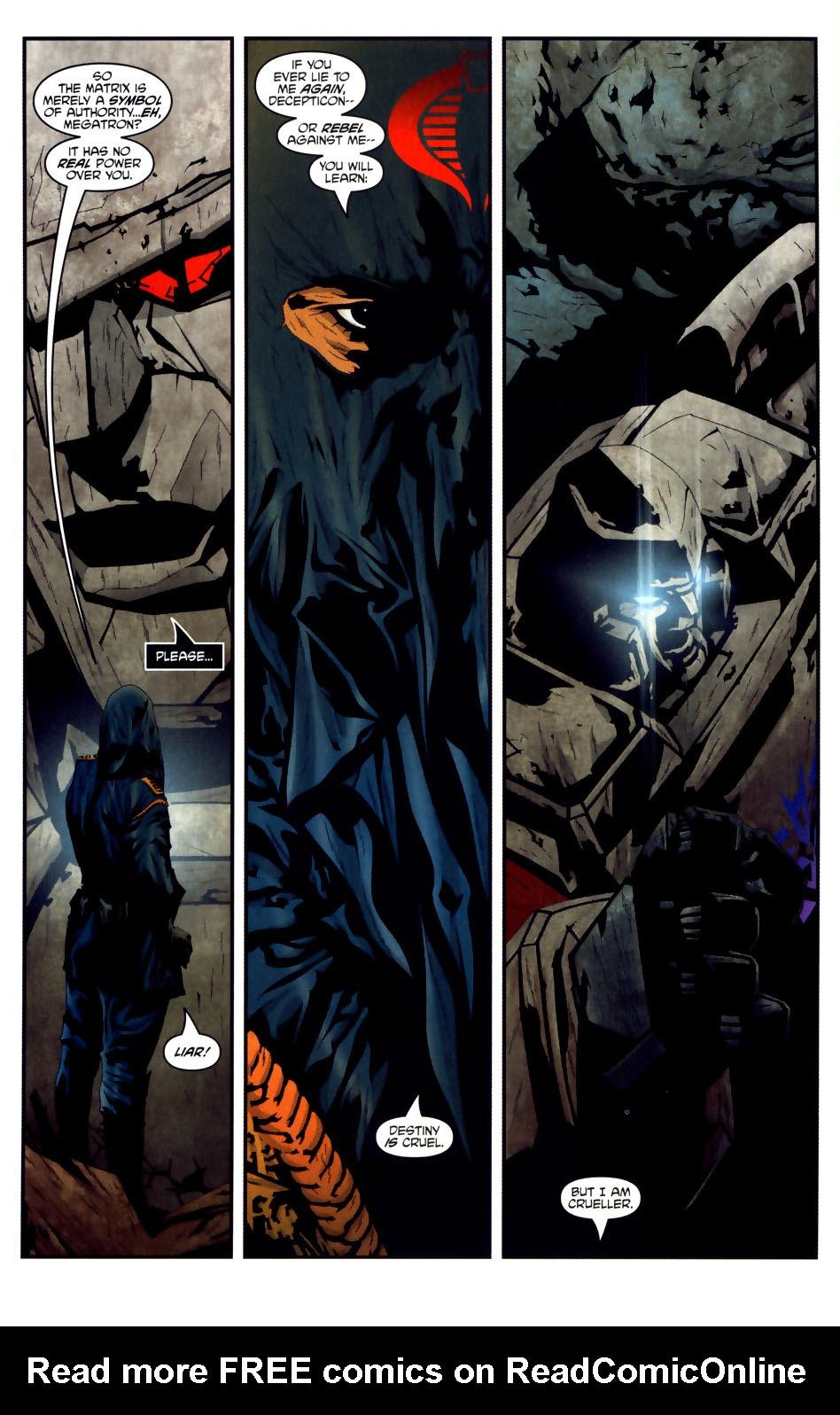 Read online Transformers/G.I. Joe comic -  Issue #3 - 11