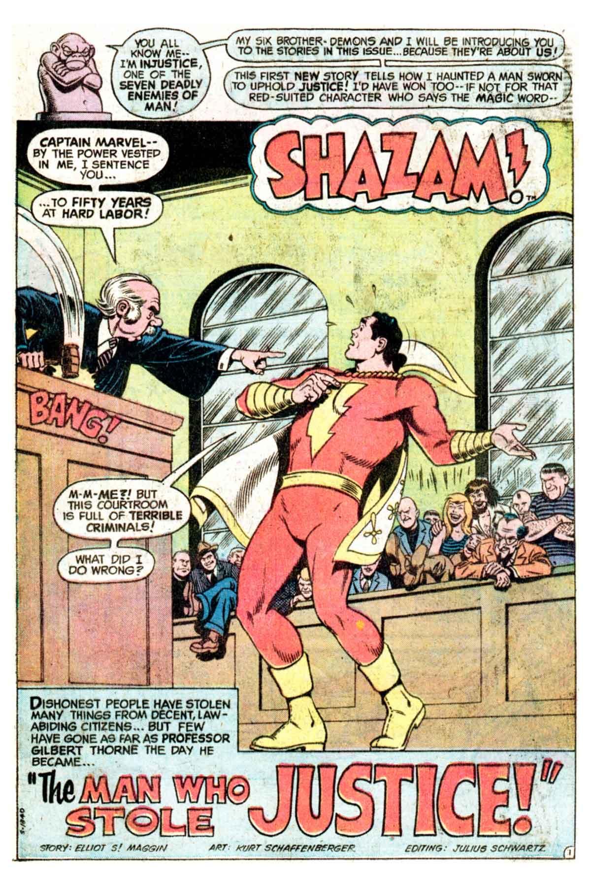 Read online Shazam! (1973) comic -  Issue #16 - 4