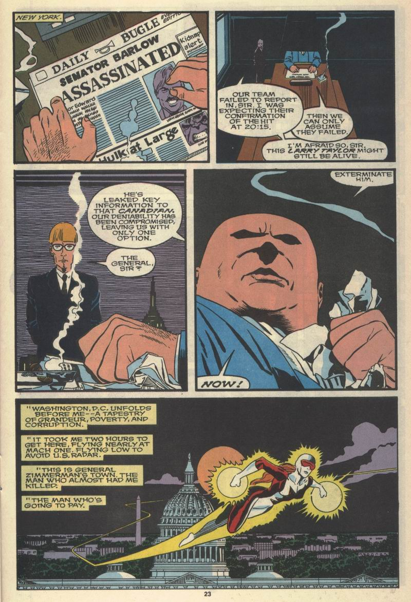 Read online Alpha Flight (1983) comic -  Issue #77 - 25
