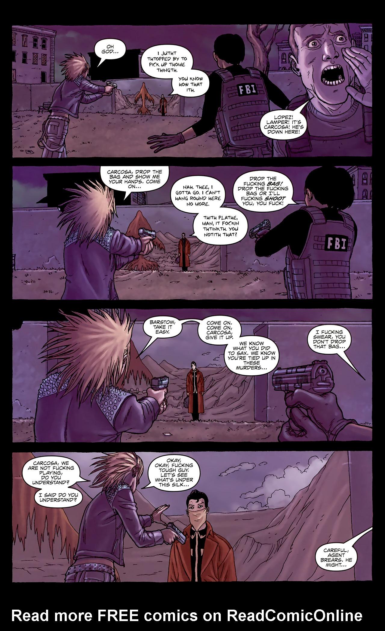 Read online Alan Moore's Neonomicon comic -  Issue #1 - 33