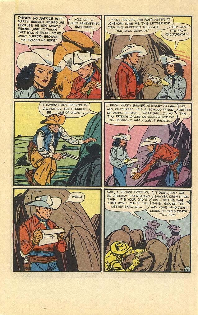 Read online Roy Rogers comic -  Issue #3 - 29