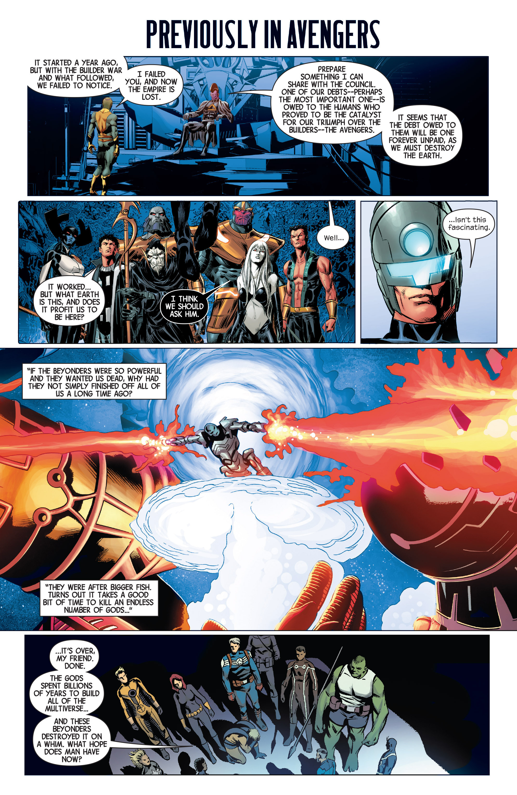 Read online Avengers (2013) comic -  Issue #42 - 2