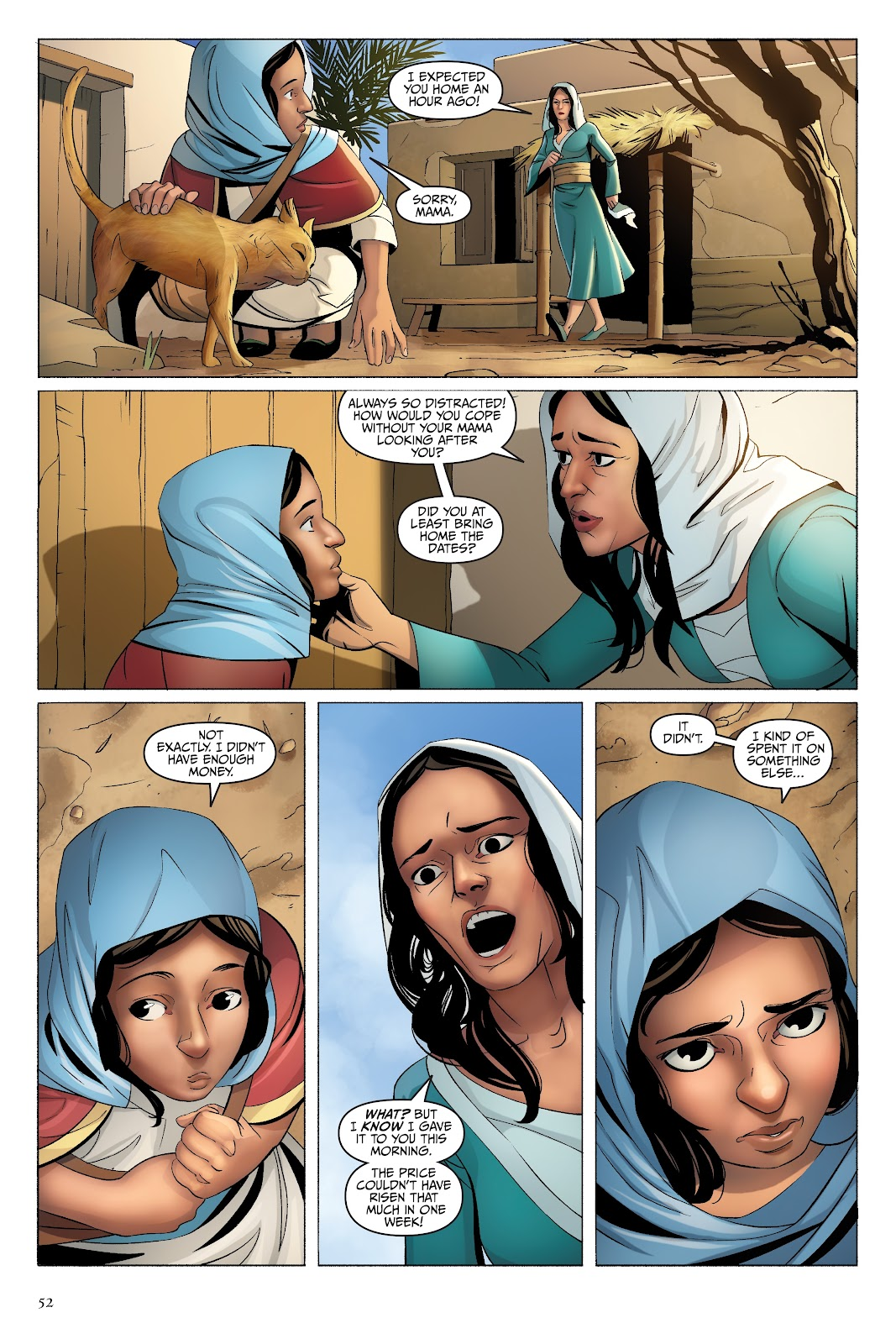 Read online Disney Aladdin: Four Tales of Agrabah comic -  Issue # TPB - 52