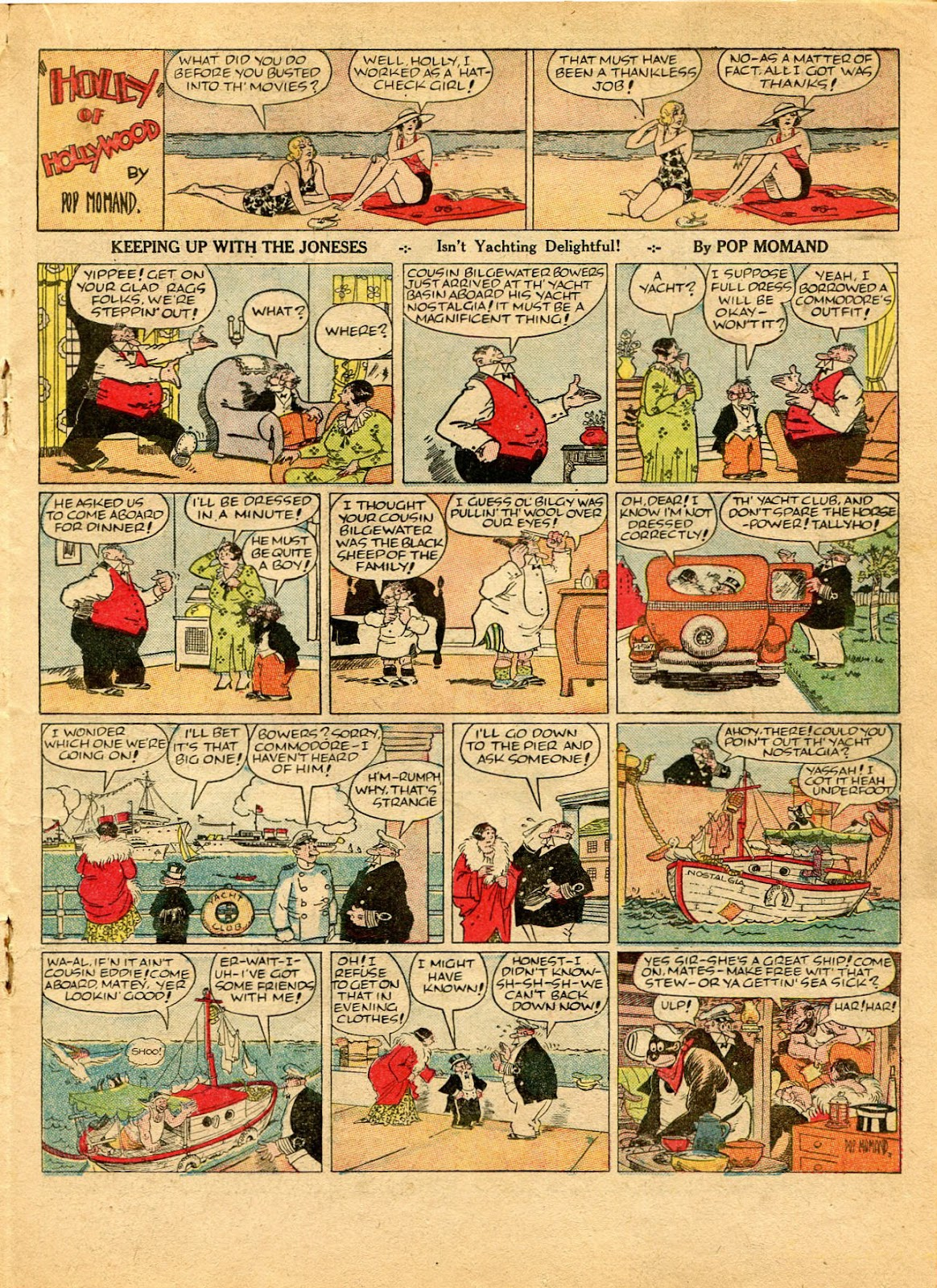 Read online Famous Funnies comic -  Issue #49 - 35