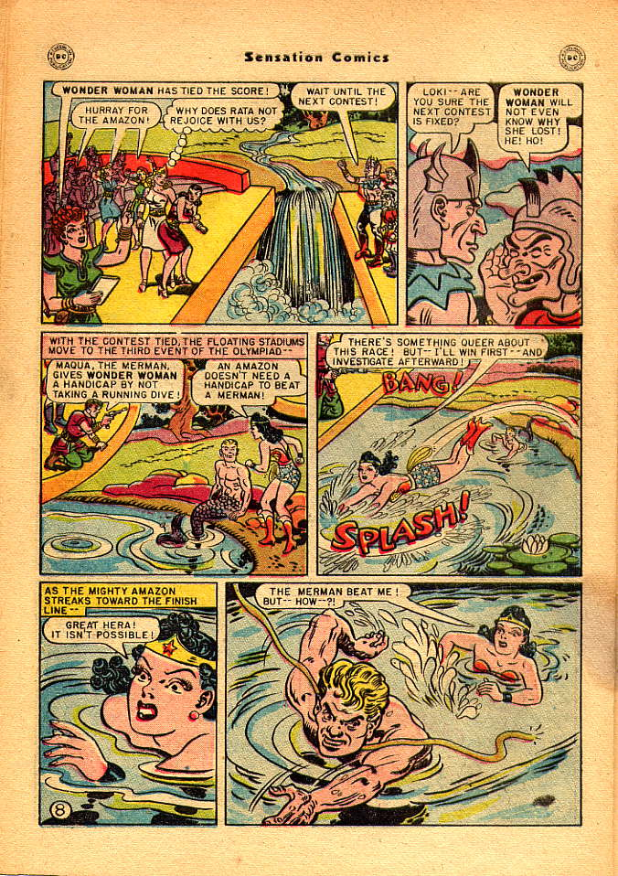 Read online Sensation (Mystery) Comics comic -  Issue #83 - 10