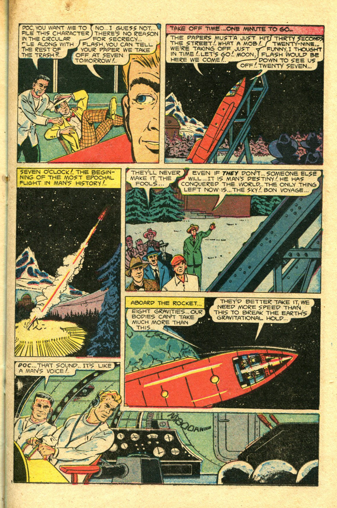 Read online Shadow Comics comic -  Issue #98 - 19
