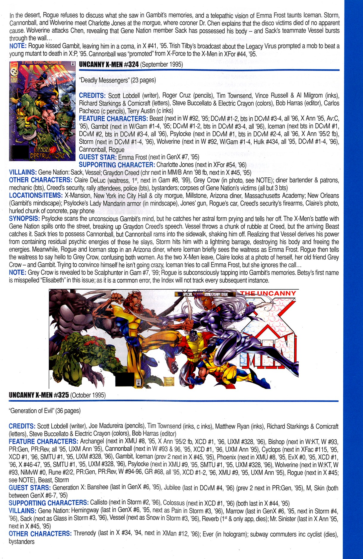 Read online Official Index to the Marvel Universe comic -  Issue #8 - 59