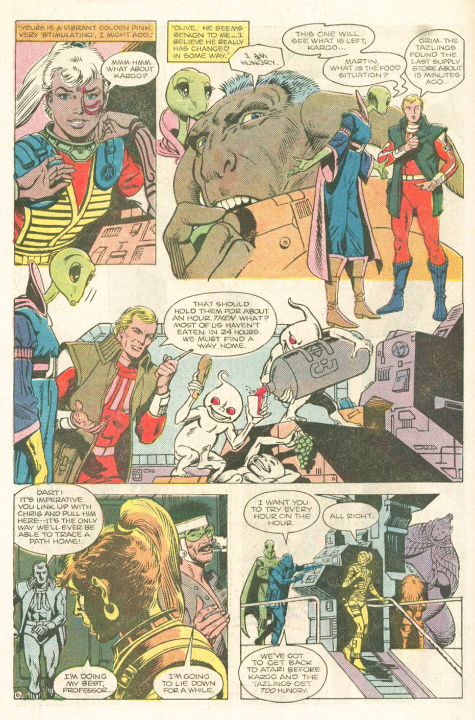 Read online Atari Force (1984) comic -  Issue #18 - 8