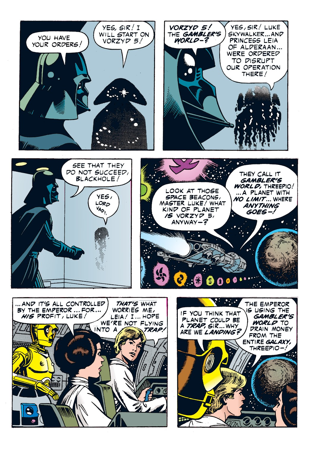 Read online Star Wars Legends: The Newspaper Strips - Epic Collection comic -  Issue # TPB (Part 1) - 42