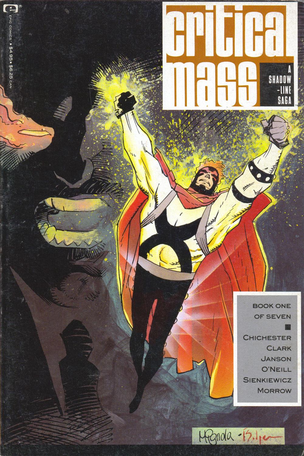 A Shadowline Saga: Critical Mass 1 Page 1