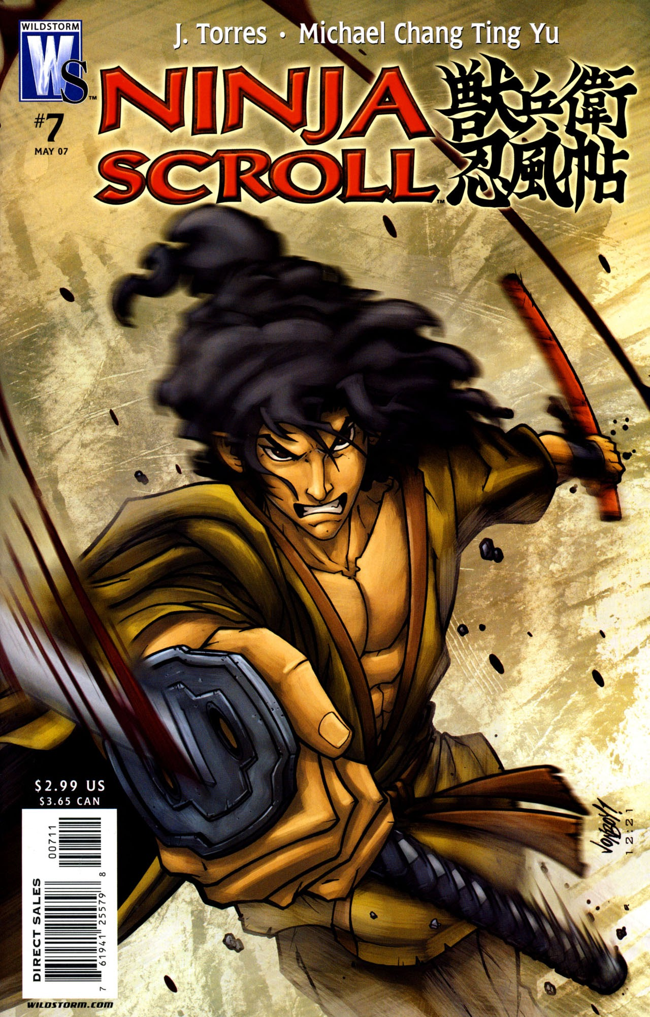 Ninja Scroll 007 Read All Comics Online For Free