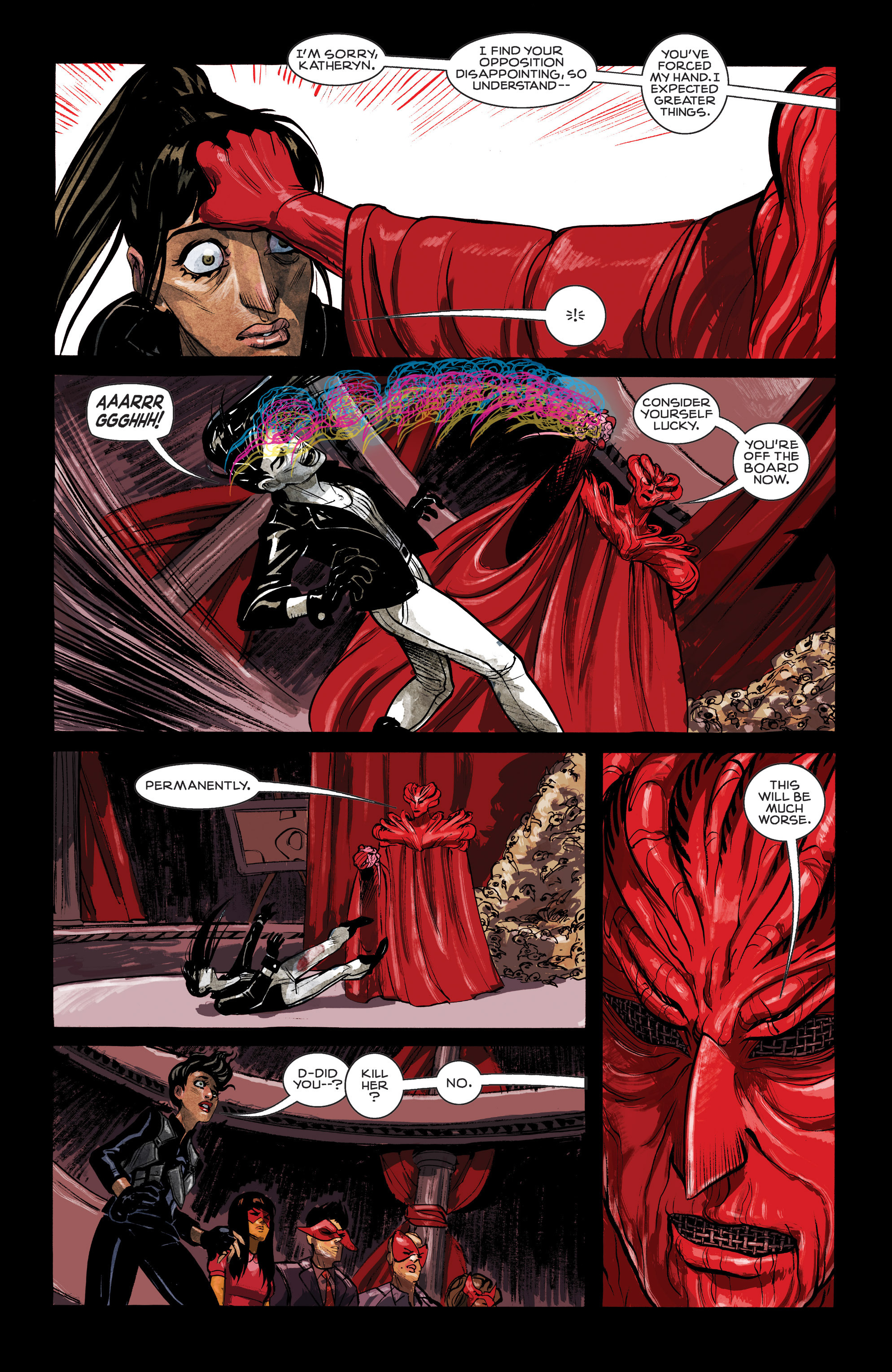 Read online Shutter comic -  Issue #12 - 19
