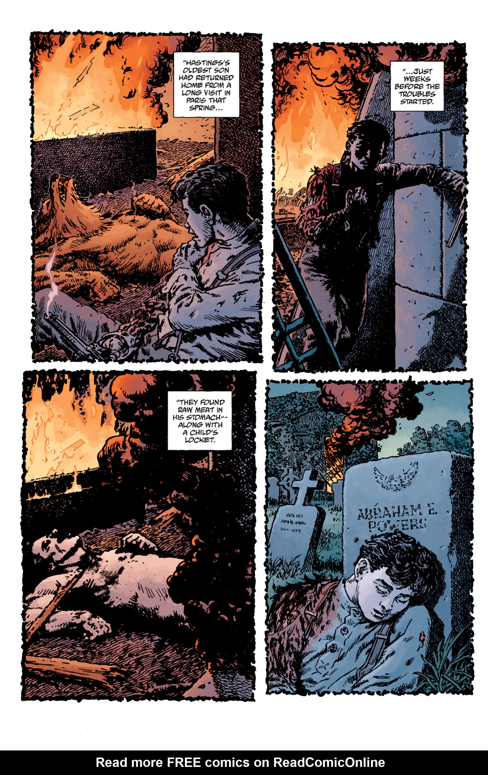 Read online Sir Edward Grey, Witchfinder: Lost and Gone Forever comic -  Issue # TPB - 45