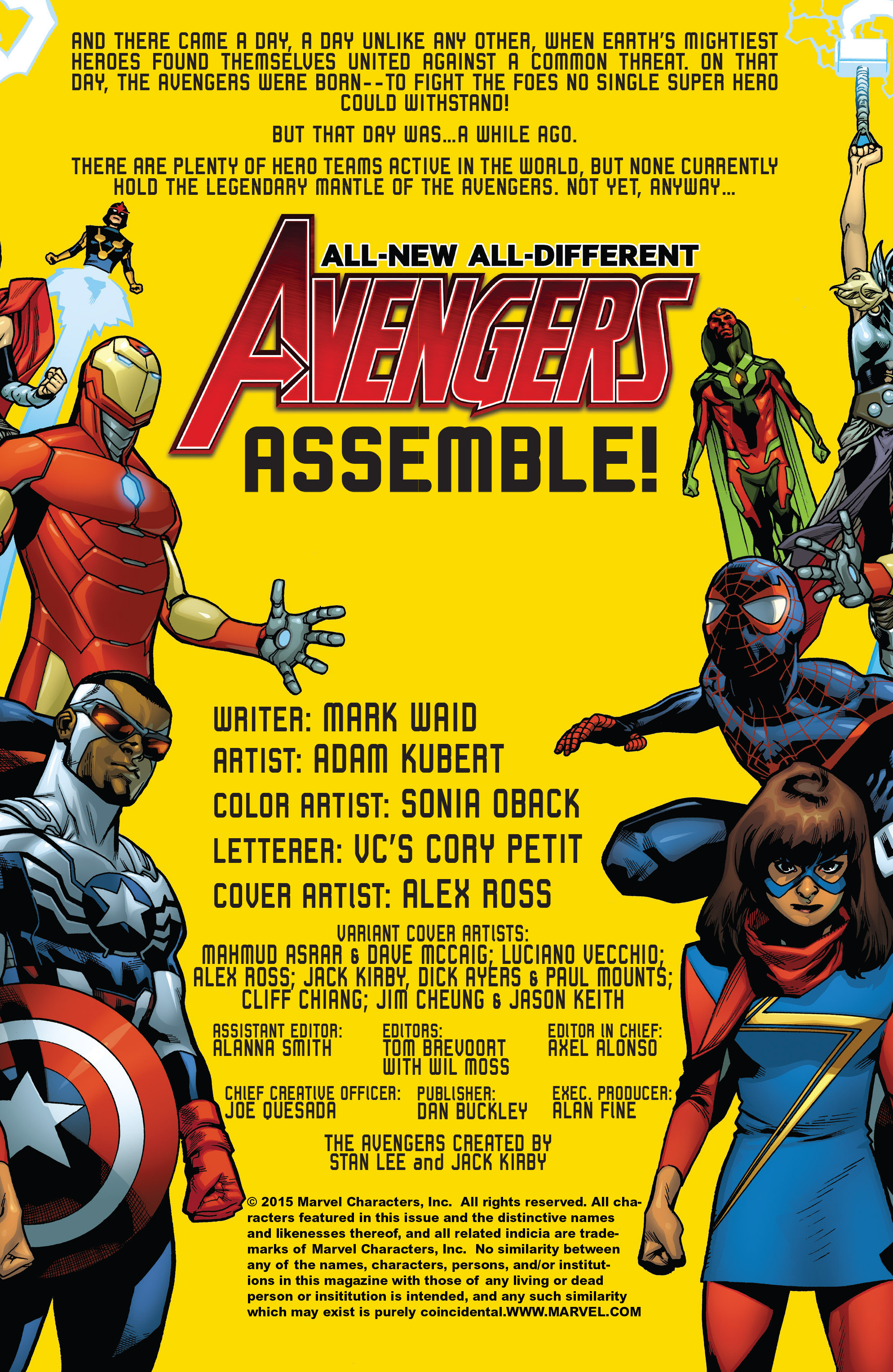 Read online All-New, All-Different Avengers comic -  Issue #1 - 3