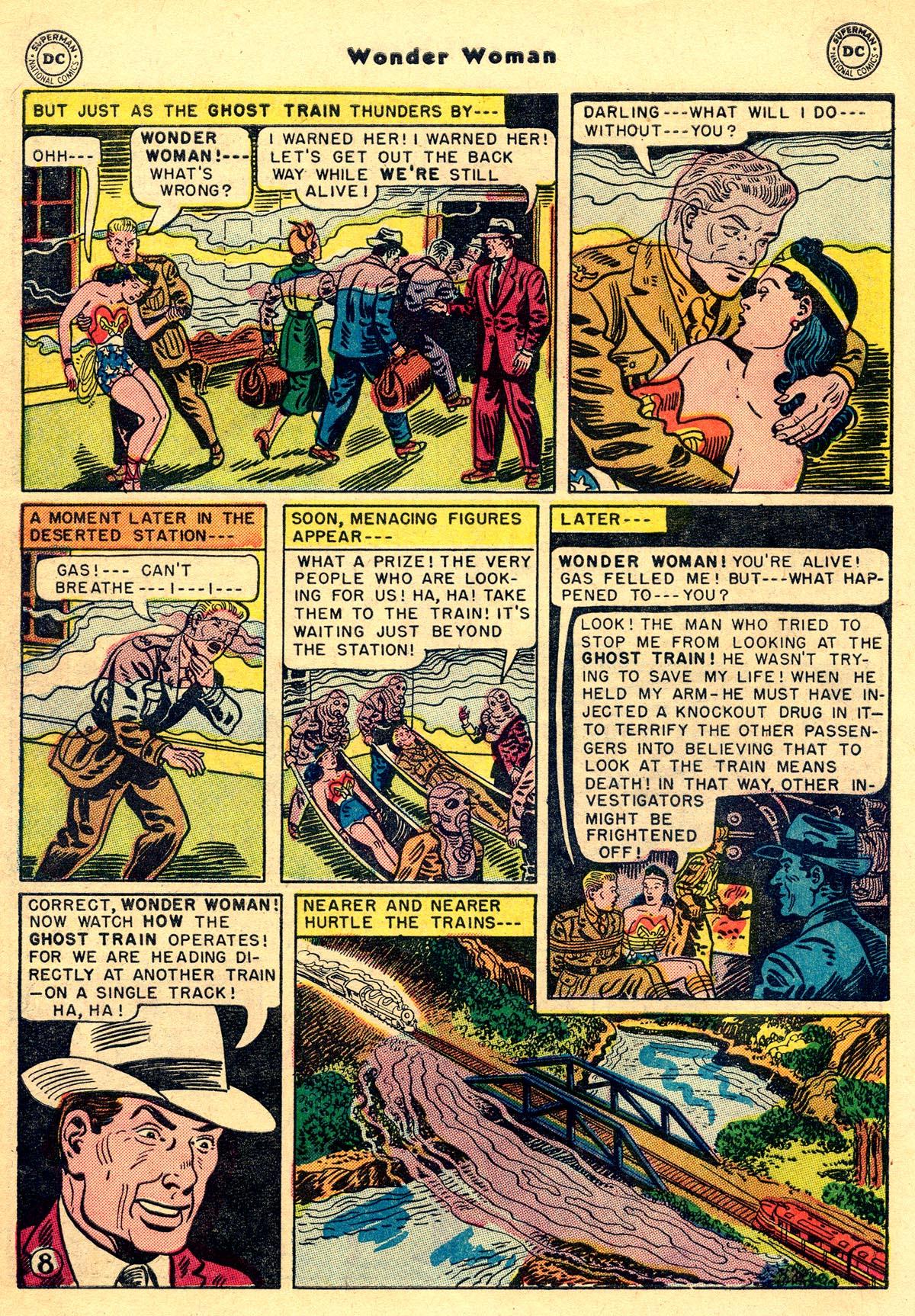 Read online Wonder Woman (1942) comic -  Issue #55 - 10