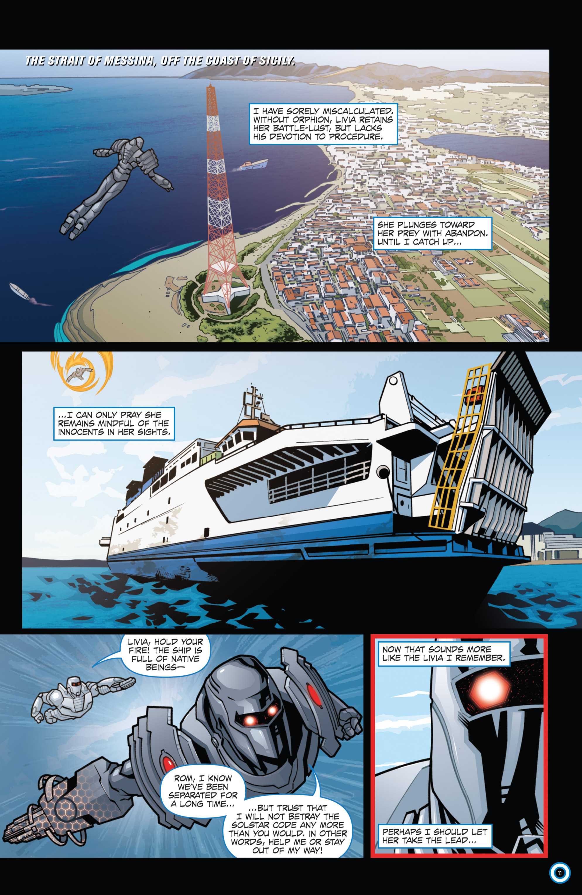 Read online ROM (2016) comic -  Issue #11 - 13