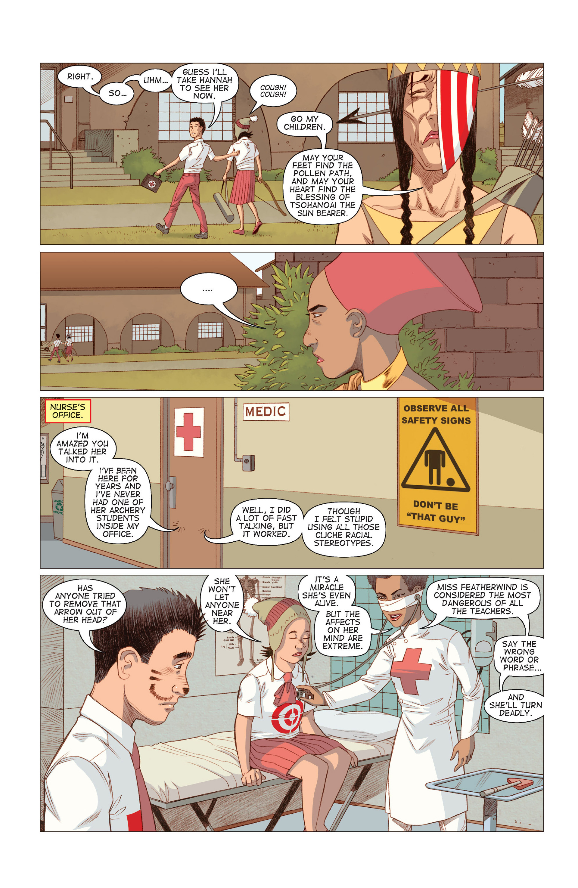 Read online Five Weapons comic -  Issue #8 - 7