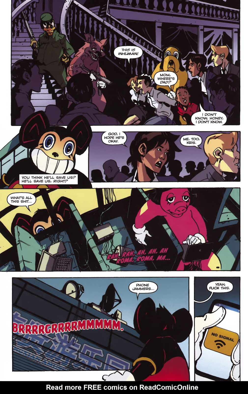 Read online Ricky Rouse Has A Gun comic -  Issue # TPB (Part 1) - 77