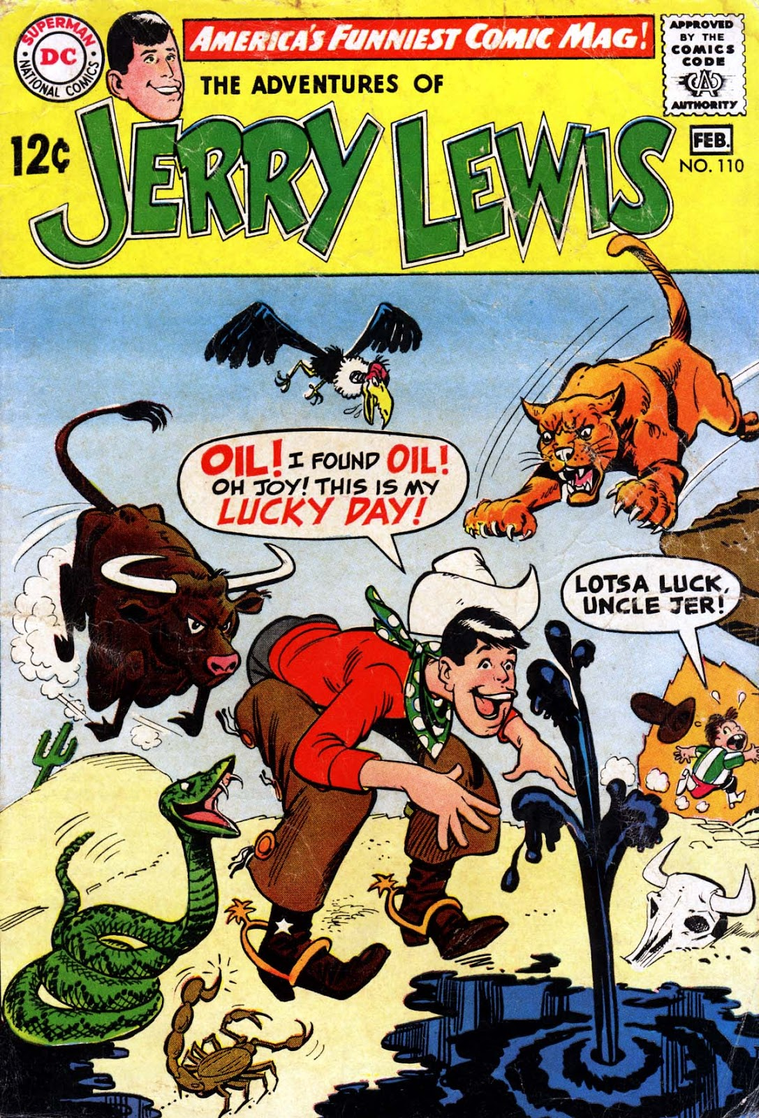 The Adventures of Jerry Lewis 110 Page 1