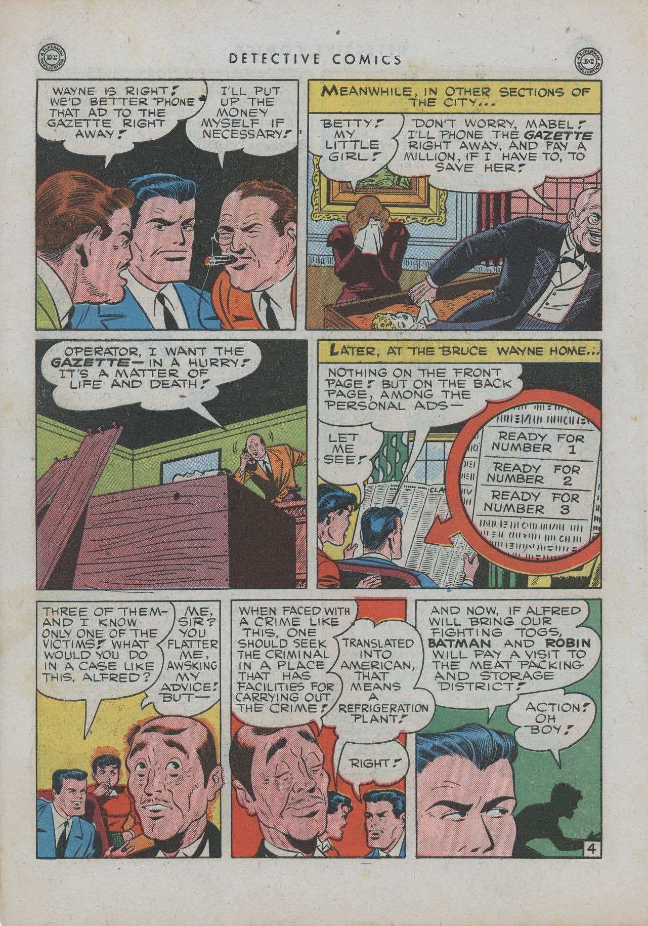 Read online Detective Comics (1937) comic -  Issue #99 - 7