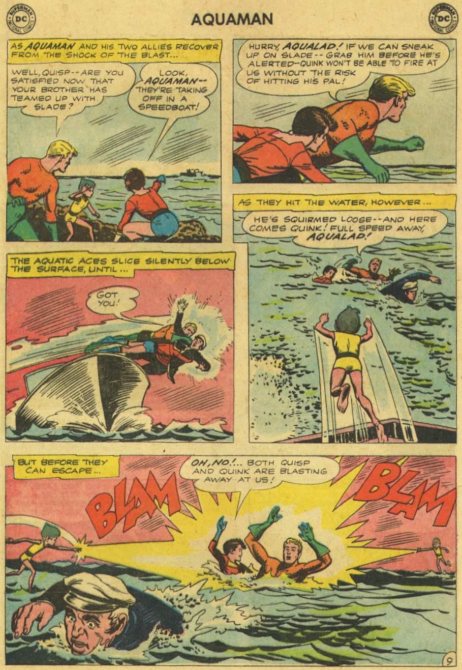 Read online Aquaman (1962) comic -  Issue #6 - 13
