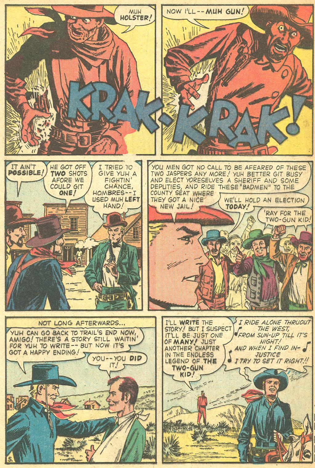 Read online Two-Gun Kid comic -  Issue #50 - 32