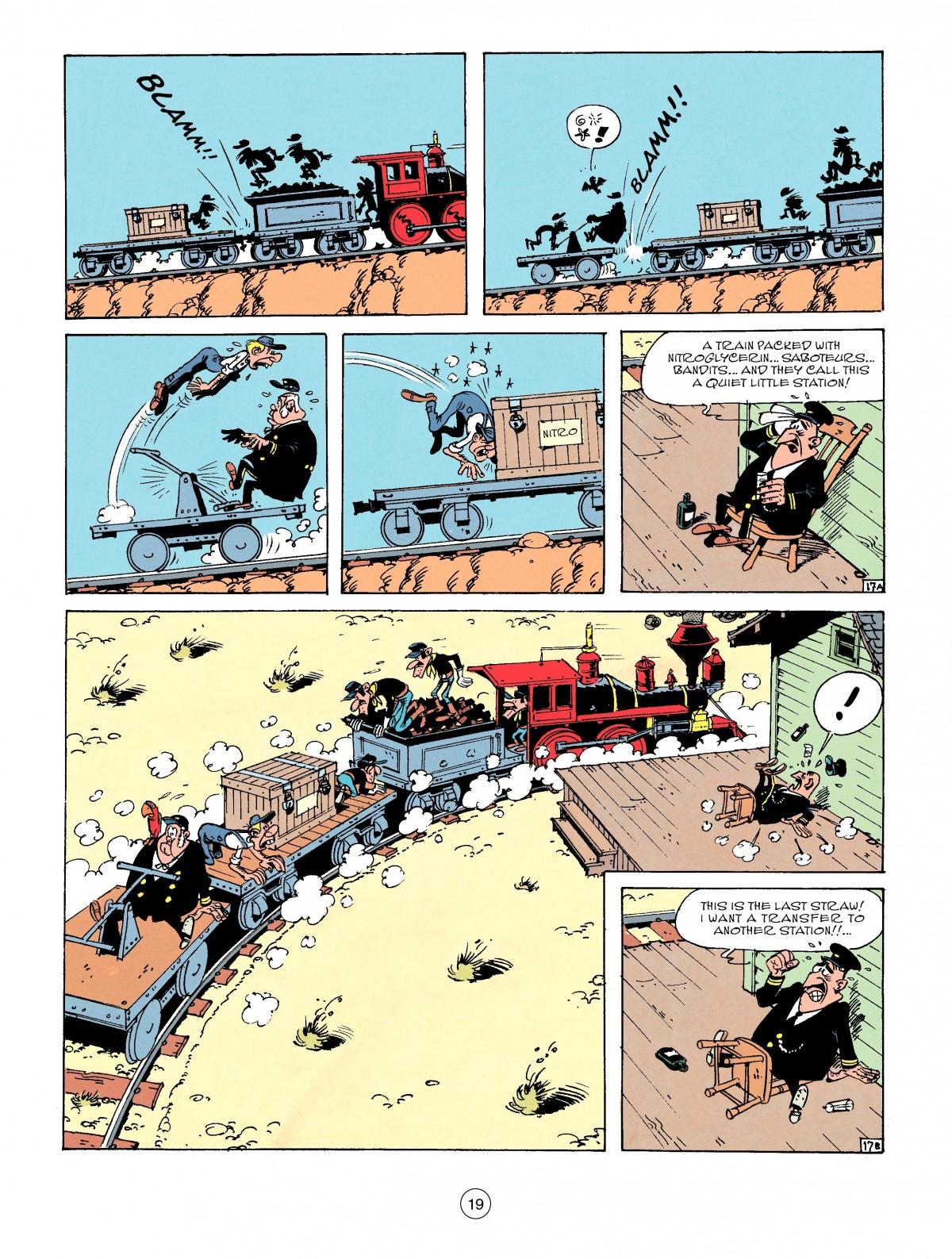 Read online A Lucky Luke Adventure comic -  Issue #53 - 19