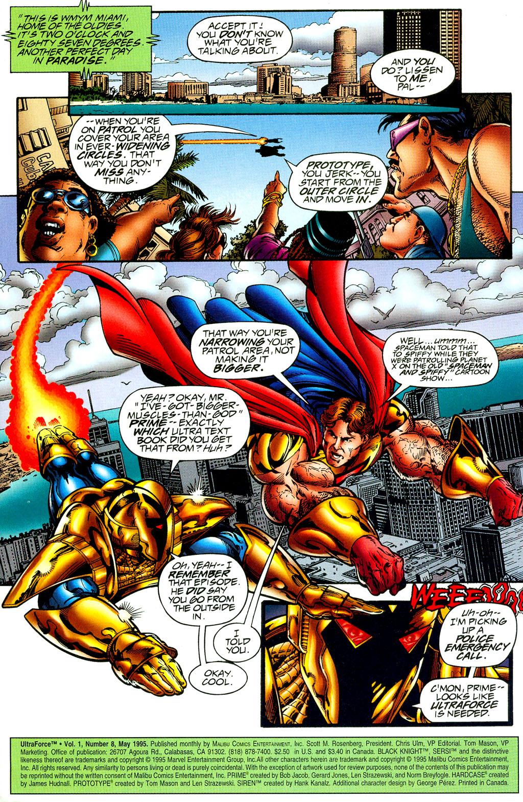 Read online UltraForce (1994) comic -  Issue #8 - 2