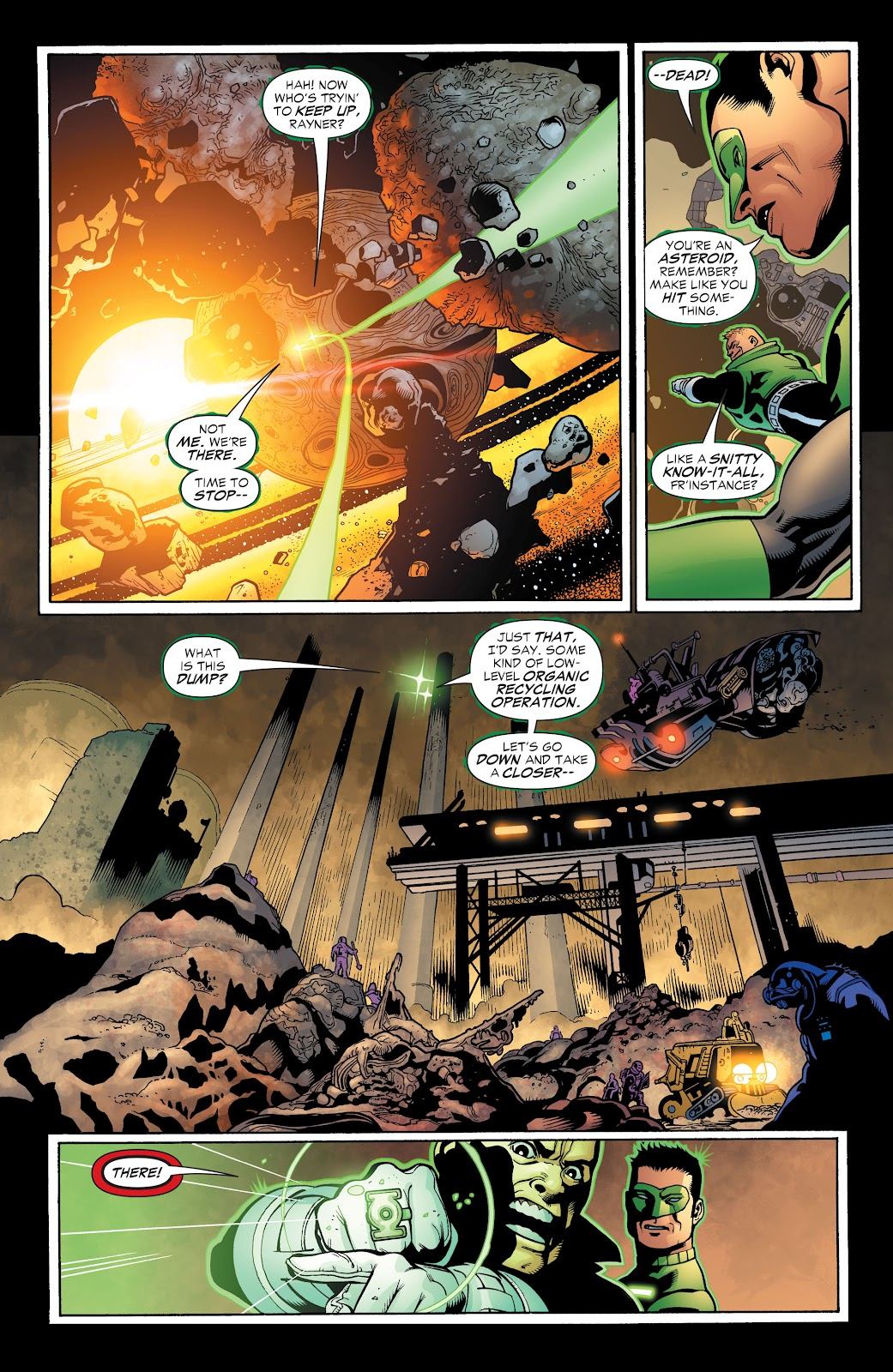 Read online Green Lantern by Geoff Johns comic -  Issue # TPB 1 (Part 3) - 35