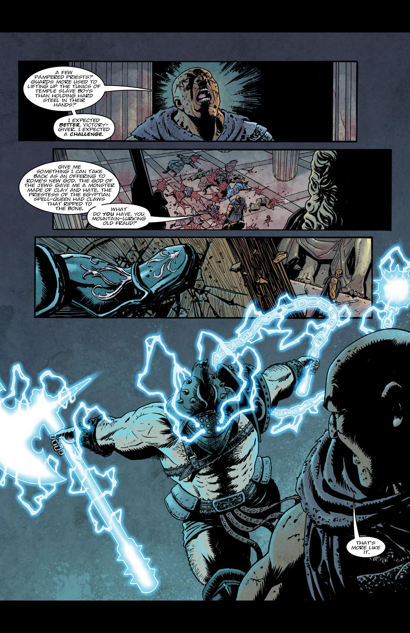 Read online Aquila comic -  Issue #5 - 4
