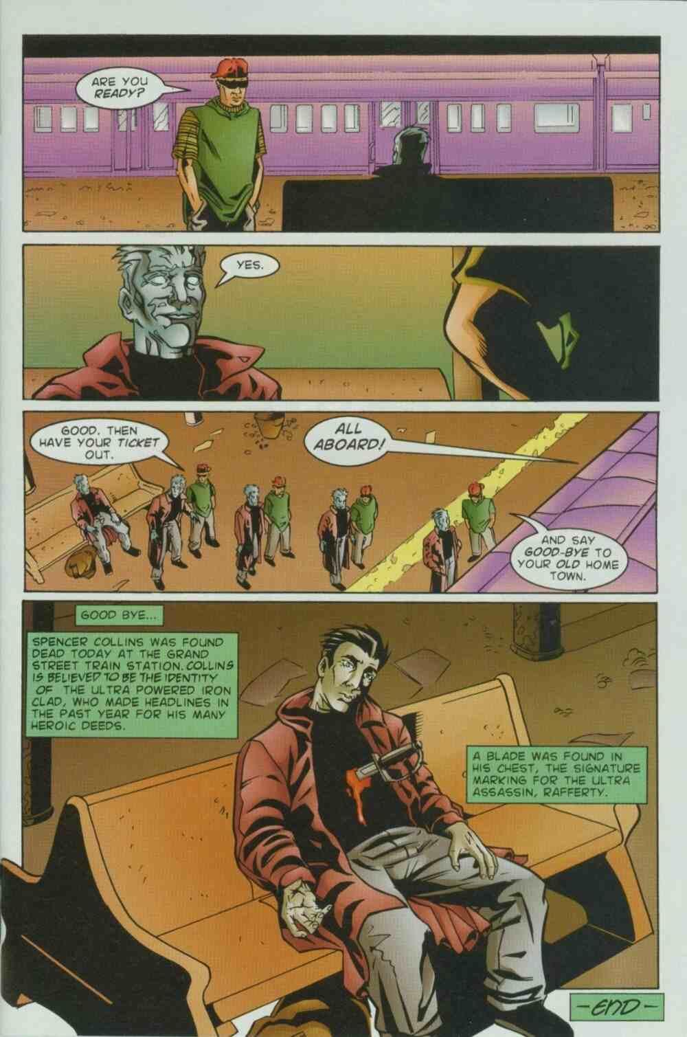 Read online Ultraverse Premiere comic -  Issue #7 - 11