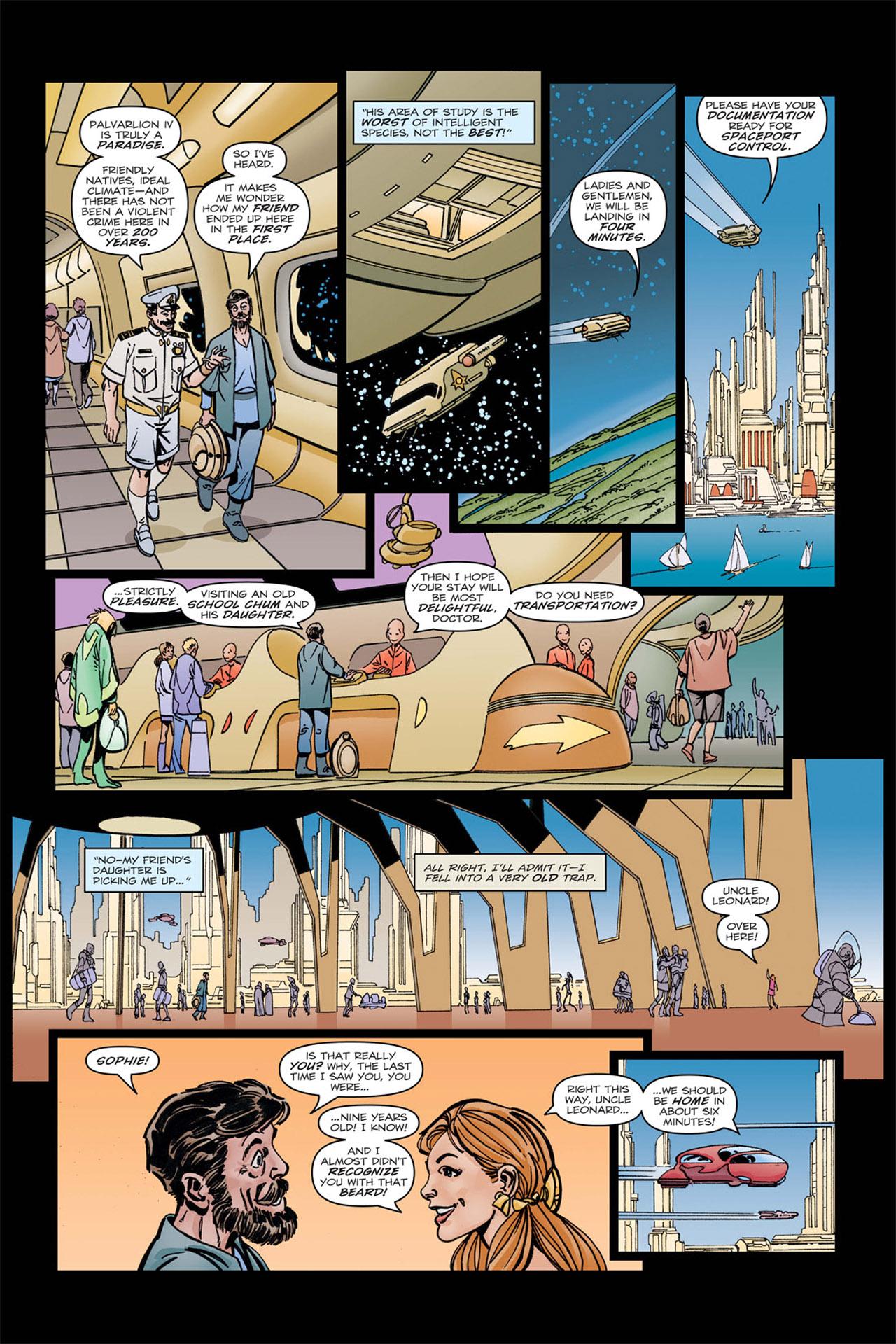 Read online Star Trek: Leonard McCoy, Frontier Doctor comic -  Issue #4 - 17