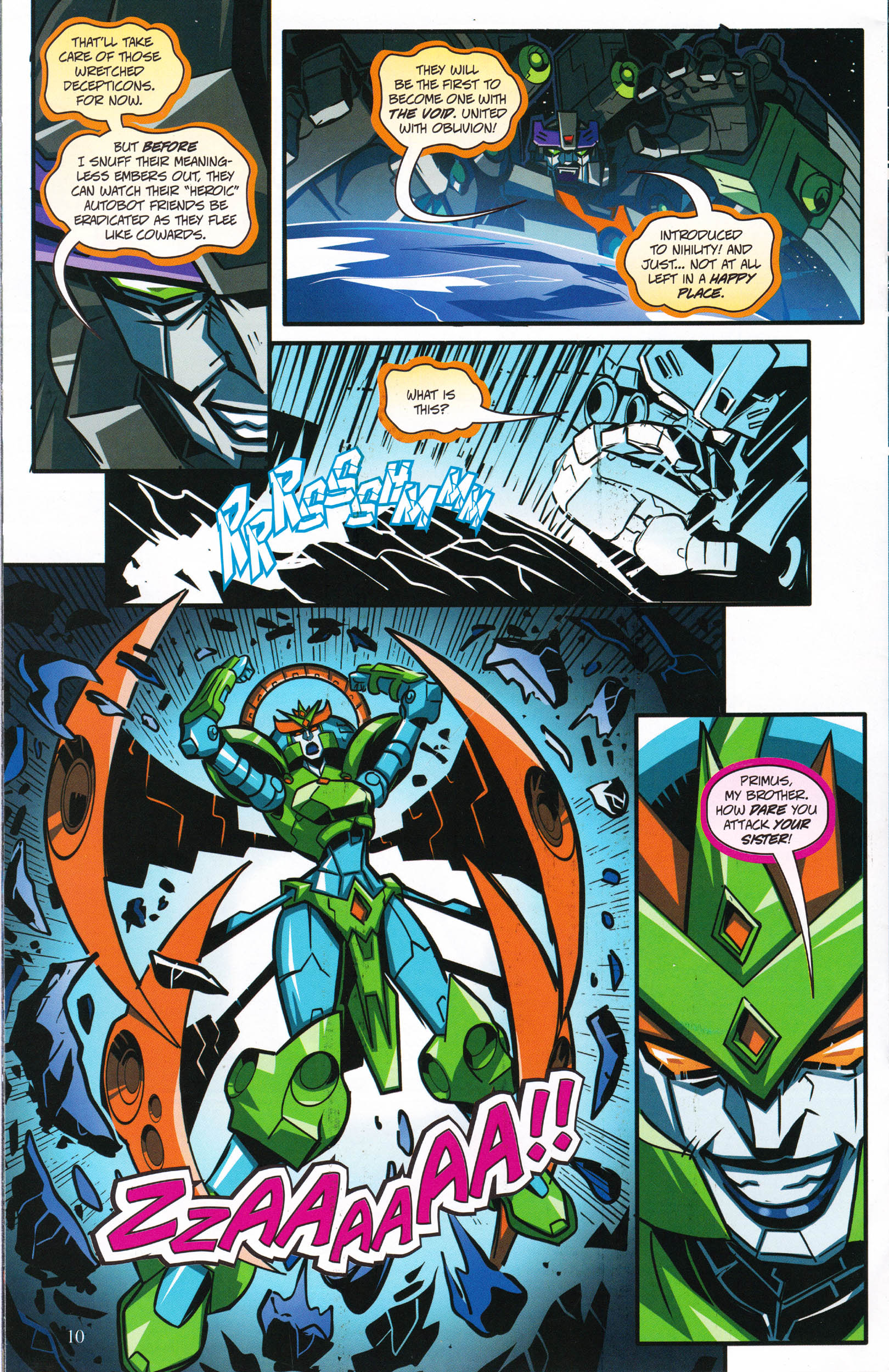 Read online Transformers: Collectors' Club comic -  Issue #66 - 10
